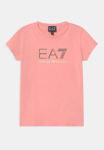 EA7  - T-shirts med print - light pink