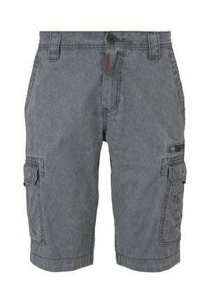 Denim shorts - blue grey