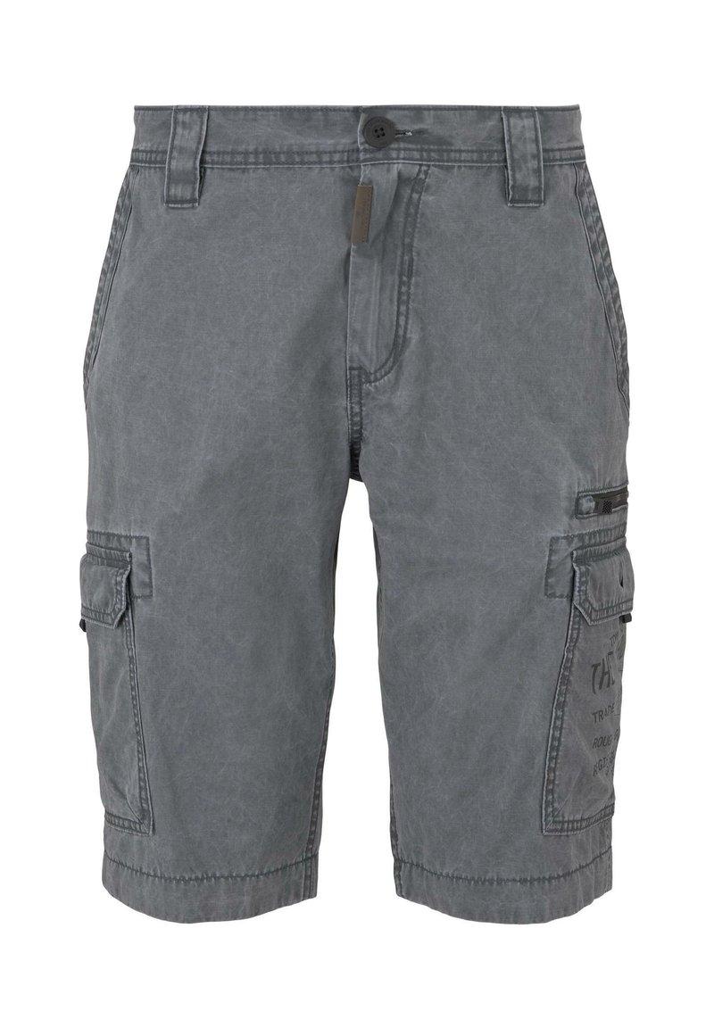 TOM TAILOR - Denim shorts - blue grey