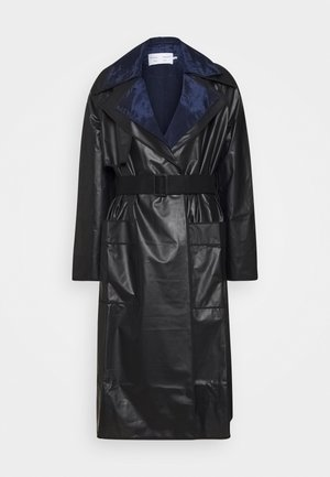 BELTED COAT 2-IN-1 - Impermeable - dark grey