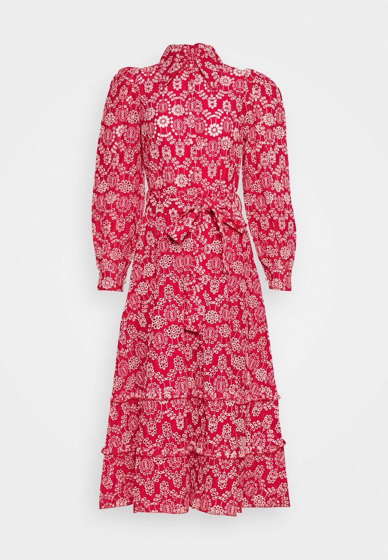 Sister Jane - MIDI DRESS - Košilové šaty - red