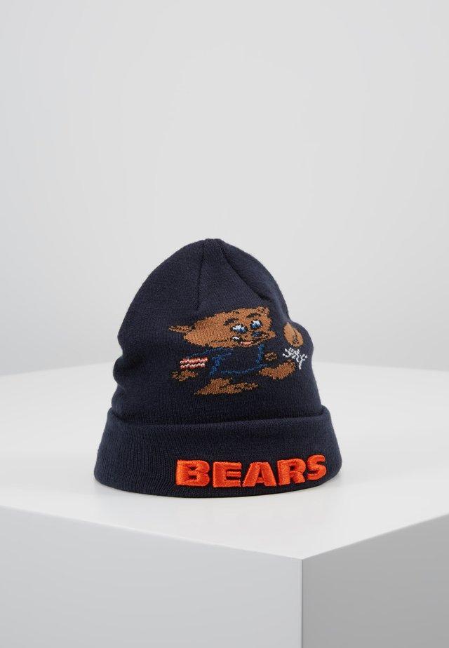 INFANT MASCOT CUFF CHICAGO BEARS - Beanie - dark blue