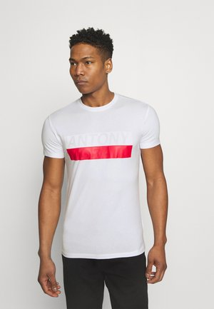SLIM FIT - Print T-shirt - bianco