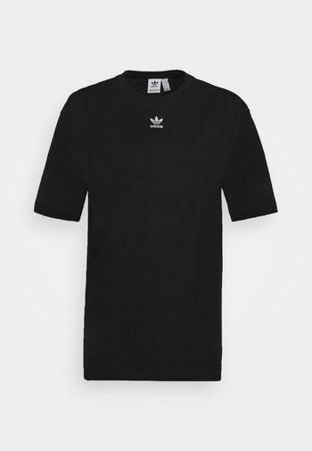TEE - T-shirts - black/white