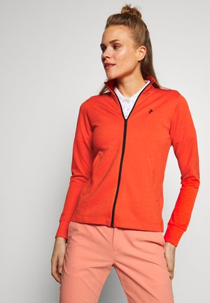 TURF ZIP - Training jacket - aglow