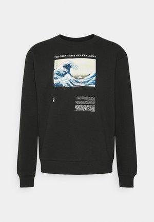 WAVE CREW - Sweatshirt - black