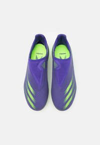 adidas Performance - X GHOSTED.3 FOOTBALL BOOTS FIRM GROUND UNISEX - Kopačky lisovky - energy ink/signal green - 3