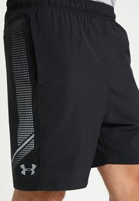 Under Armour - GRAPHIC SHORTS - Urheilushortsit - black/steel - 3