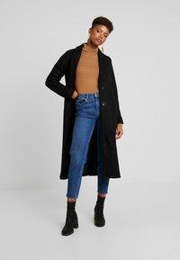 Vila - Classic coat - black - 1