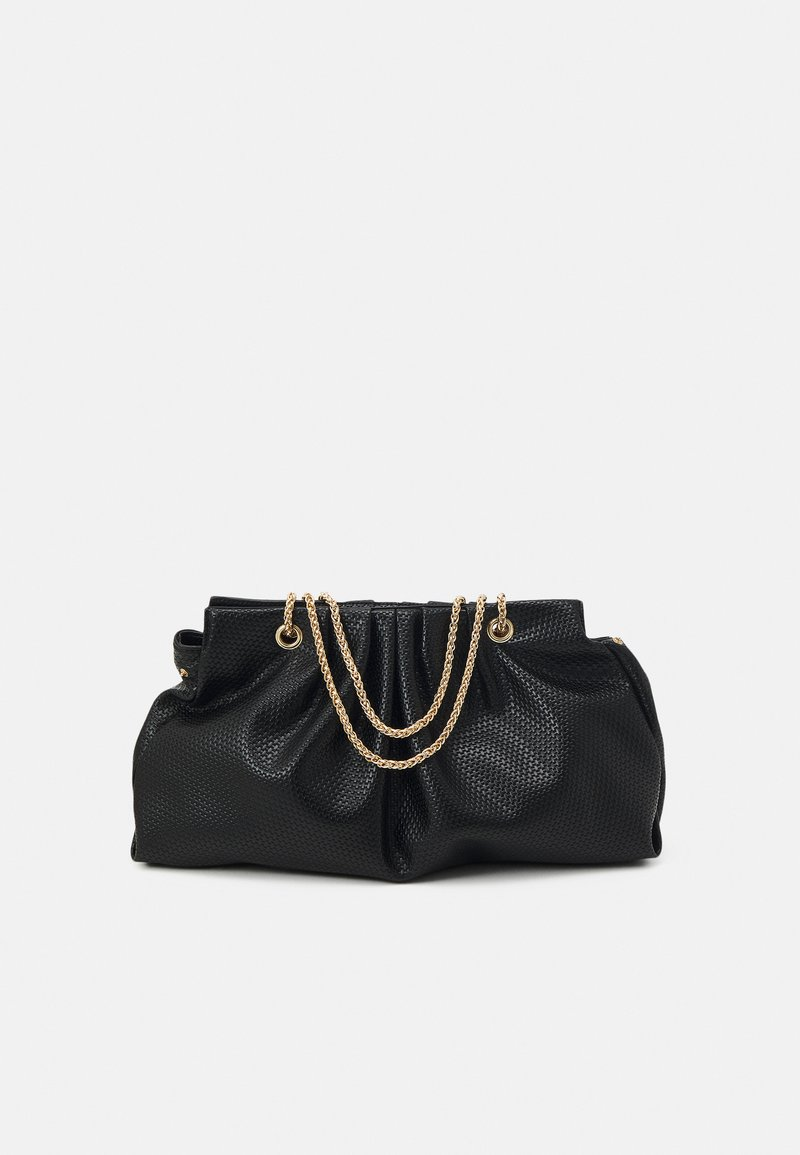 Pieces - PCLEAFY OVERSIZED - Across body bag - black