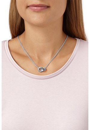 SILVER TWISTED - Necklace - silver coloured