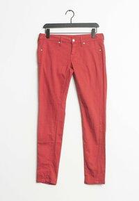 Mango - Straight leg jeans - red - 0