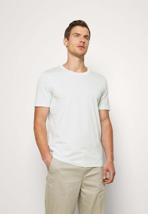 SLHTHEPERFECT ONECK TEE  - T-shirts basic - glacier