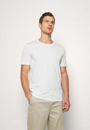 SLHTHEPERFECT ONECK TEE  - T-Shirt basic - glacier