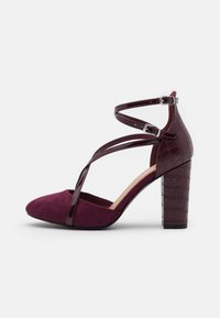 Wallis - CASH - Zapatos altos - berry - 1