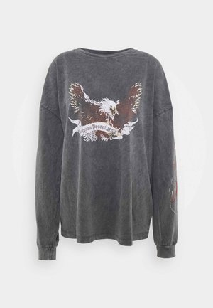 OAKLAND EAGLE SKATE - Langærmede T-shirts - grey