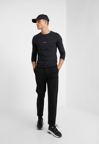 Les Deux - LENS - Long sleeved top - black/white - 1