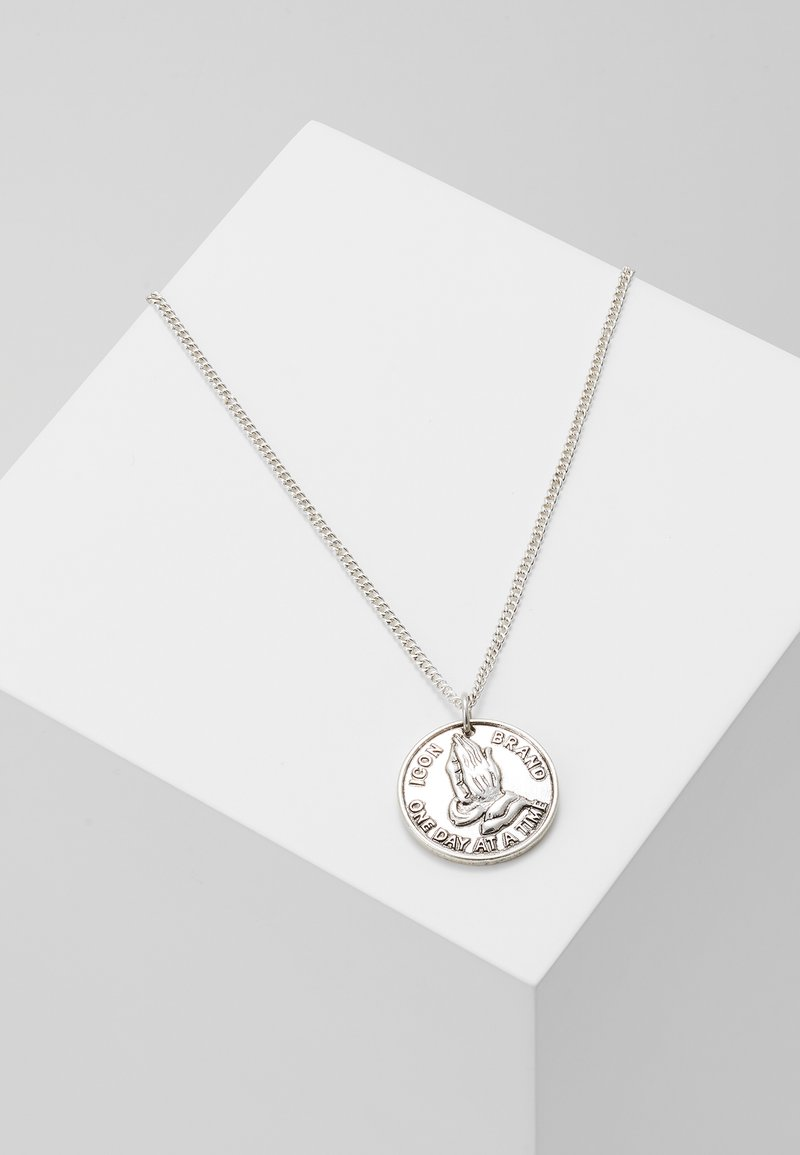 Icon Brand - PRAY AND DISPLAY - Necklace - silver-coloured