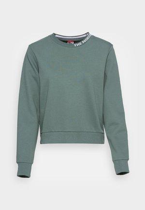 ZUMU CREW - Sweatshirt - balsam green