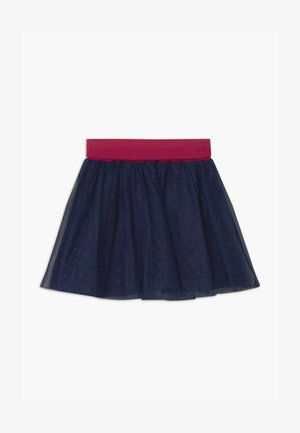SMALL GIRLS - A-line skirt - navy blazer