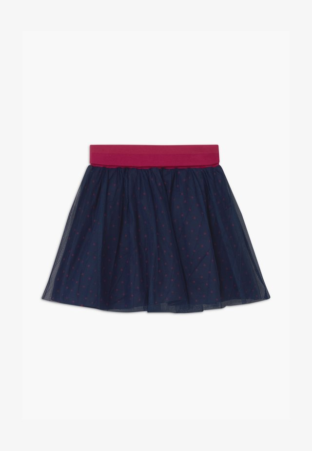 SMALL GIRLS - Jupe trapèze - navy blazer