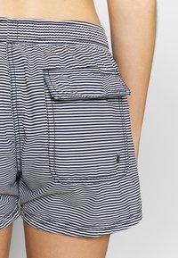 Marc O'Polo - BEACH SHORTS - Bikini bottoms - blau/schwarz - 3