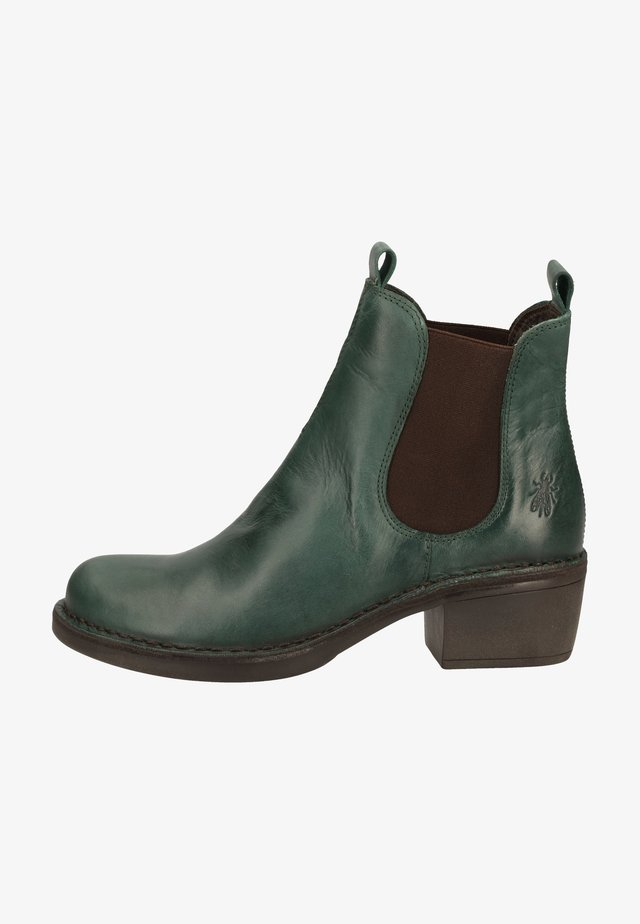 Ankle boot - petrol