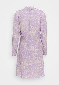 Closet - HIGH NECK MINI DRESS - Korte jurk - purple - 5