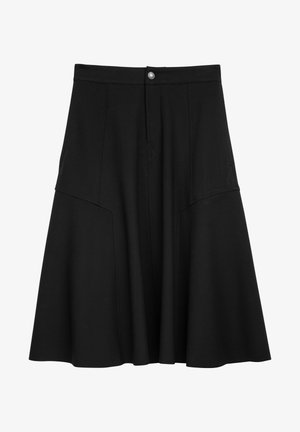 OCTARIA - A-line skirt - black