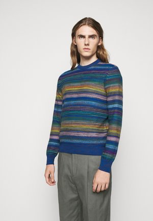 LONG SLEEVE CREW NECK - Strickpullover - multi