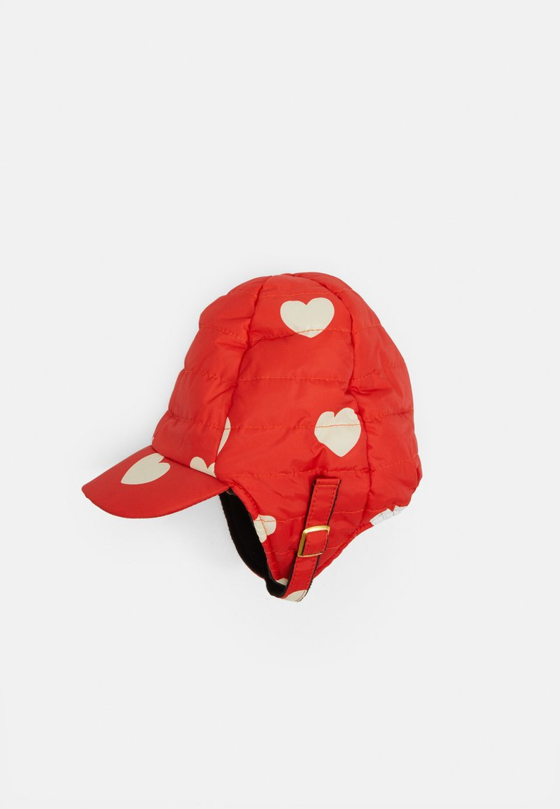 Mini Rodini - INSULATOR HEARTS - Cap - red