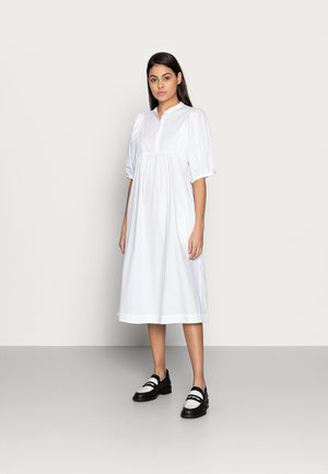 ESFLORA DRESS - Vestido camisero - white