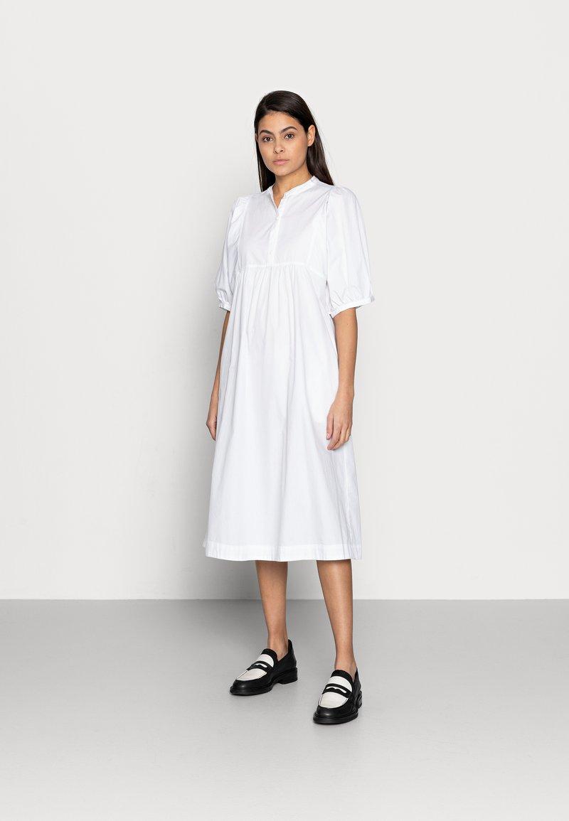 esmé studios - ESFLORA DRESS - Shirt dress - white