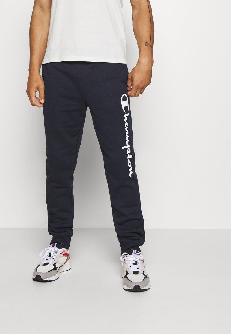 Champion - LEGACY CUFF PANTS - Teplákové kalhoty - dark blue