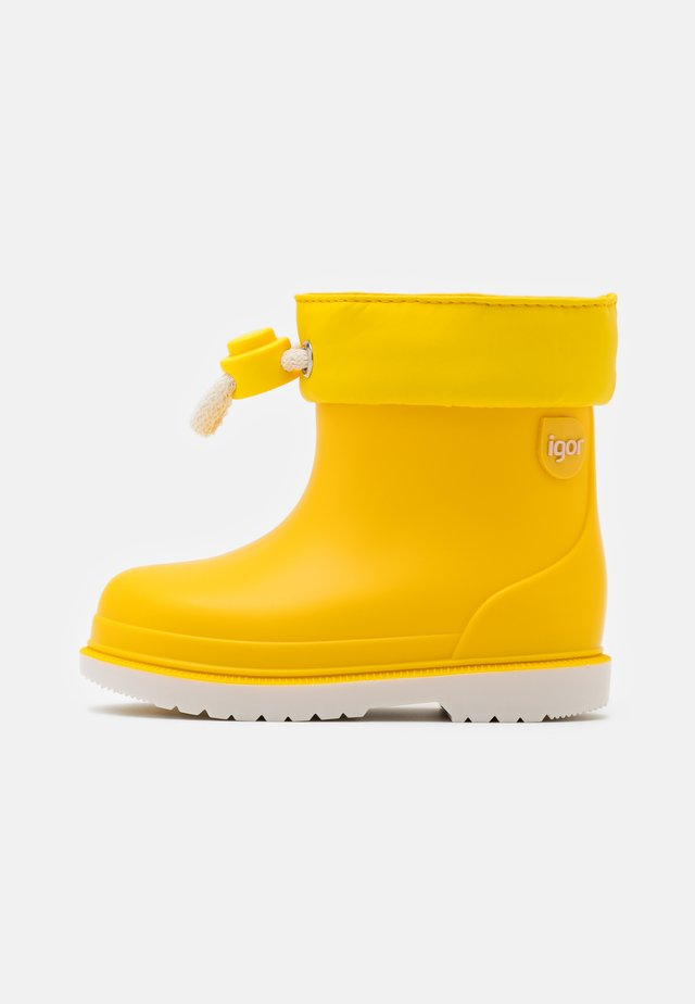 BIMBI BICOLOR UNISEX - Wellies - amarillo
