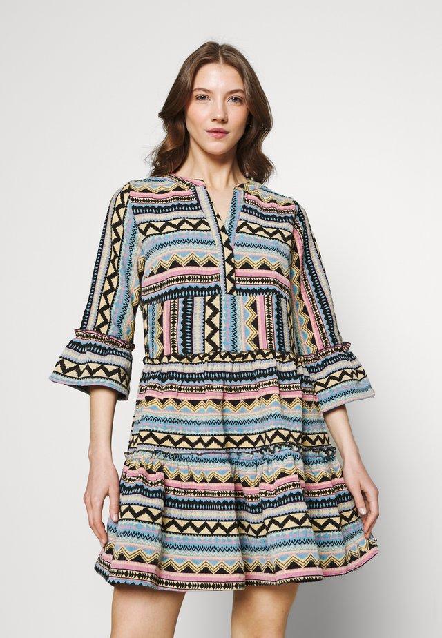 INDY BOHO DRESS - Korte jurk - multicolor