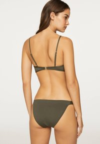 OYSHO - Bikini top - khaki - 2