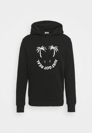GIRK HOOD UNISEX - Sweatshirt - black