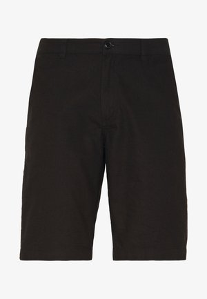 HECTOR OXFORD WASHED - Shorts - black