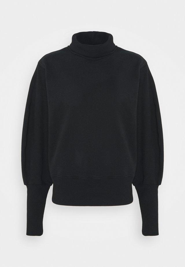 EXTENDED RIB - Sweatshirt - black