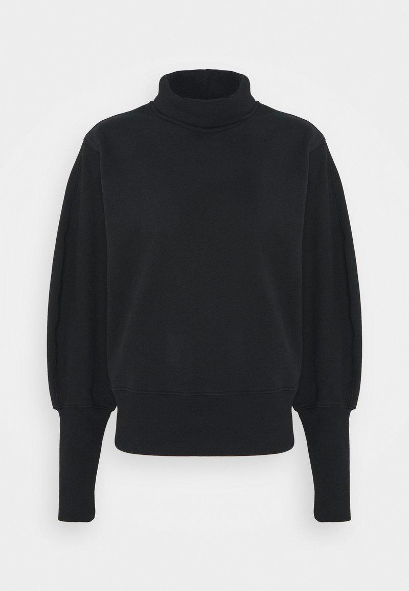 Agolde - EXTENDED RIB - Sweatshirt - black