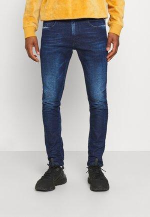JOHNFRUS - Slim fit jeans - dark blue denim