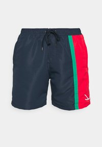SIGNATURE BLOCK - Shorts - navy