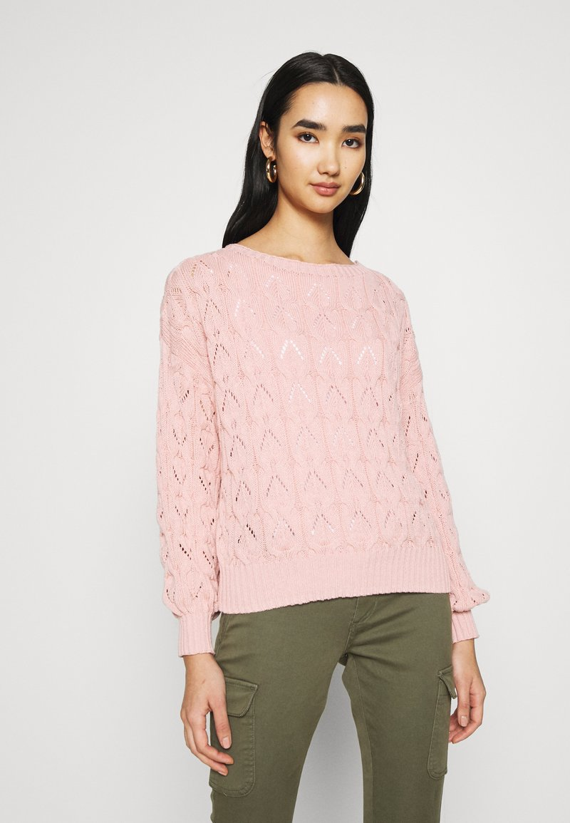 ONLY - ONLBRYNN LIFE STRUCTURE  - Jumper - adobe rose