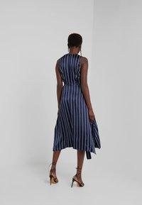 HUGO - KABILLY - Cocktail dress / Party dress - dark blue/white - 2