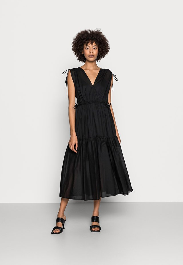 BOHO DRESS - Korte jurk - black