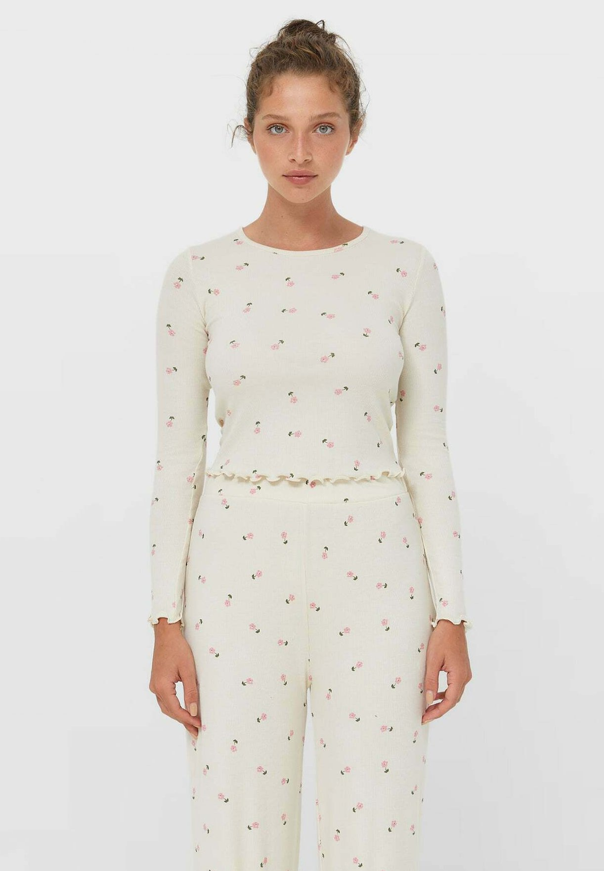 Donna MIT BLUMENPRINT  - Maglietta a manica lunga