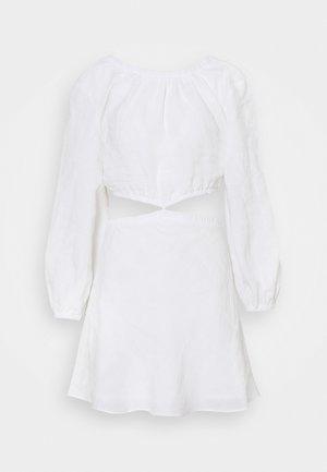 MADELEINE MINI DRESS - Sukienka letnia - ivory