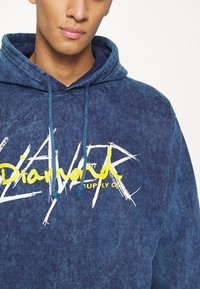Diamond Supply Co. - SLAYER HOODIES - Collegepaita - dark blue - 4