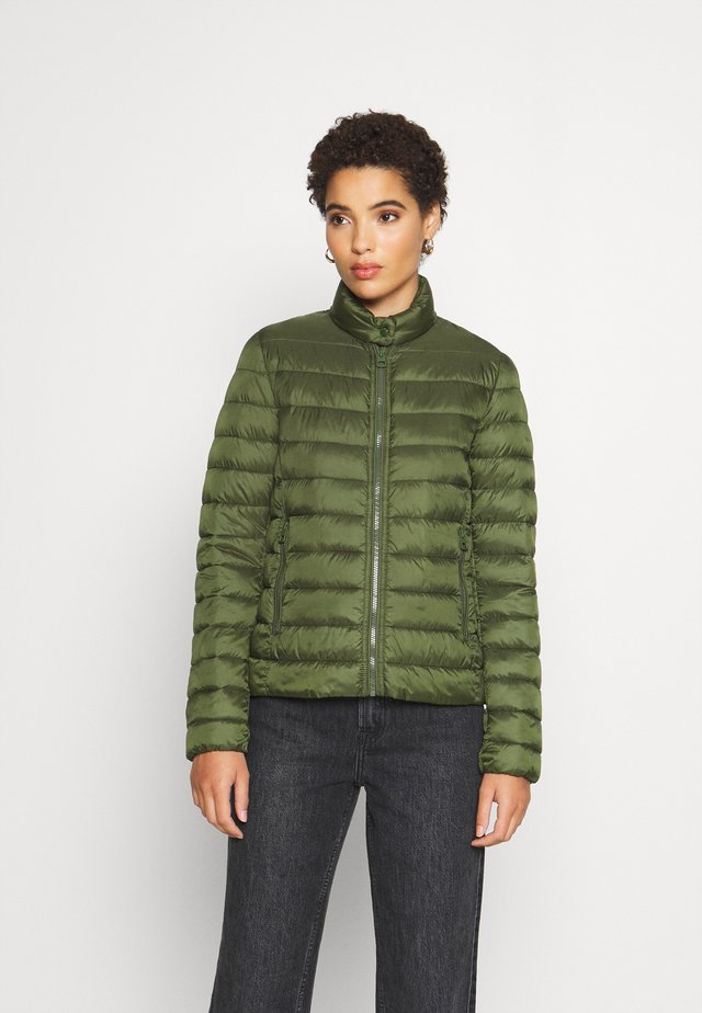 JACKET REGULAR LENGTH WITH STAND UP COLLAR  - Vinterjakke - lush pine